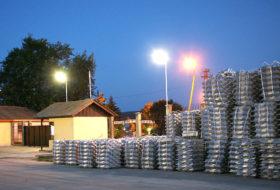Логистично обезпечаване на водещ български производител на алуминий